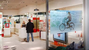 Interactive SHOP WINDOW
